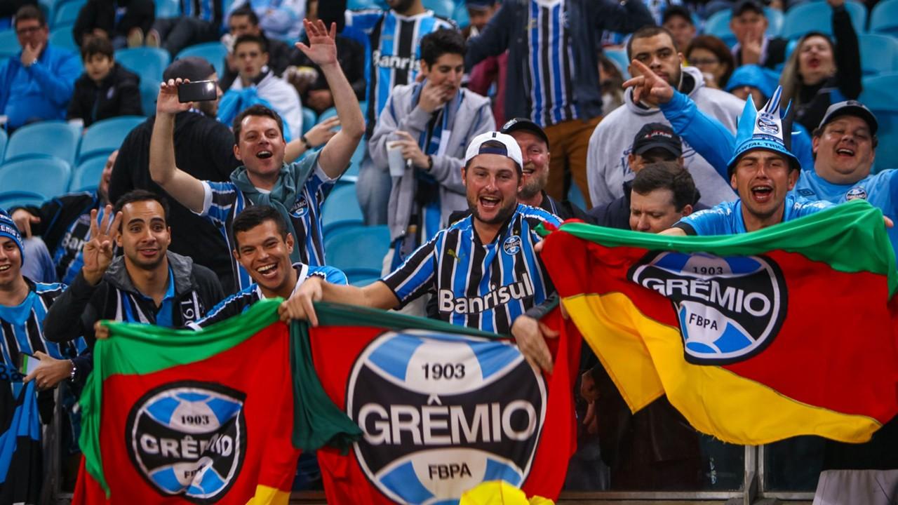 Torcida Gremio Cruzeiro Copa do Brasil 16082017