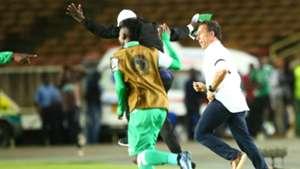Gor Mahia coach Hassan Oktay loses phone after historic Caf win
