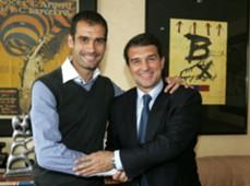 Laporta Pep Guardiola 2