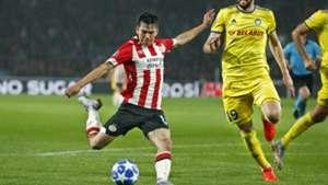 Hirving Lozano PSV Eindhoven Champions League 2018
