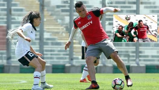 Colo Colo vs Colo Colo Femenino y Colo Colo vs Audax Italiano amistosos 091117 101117