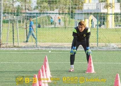 Kedah goalkeeper Farhan Abu Bakar