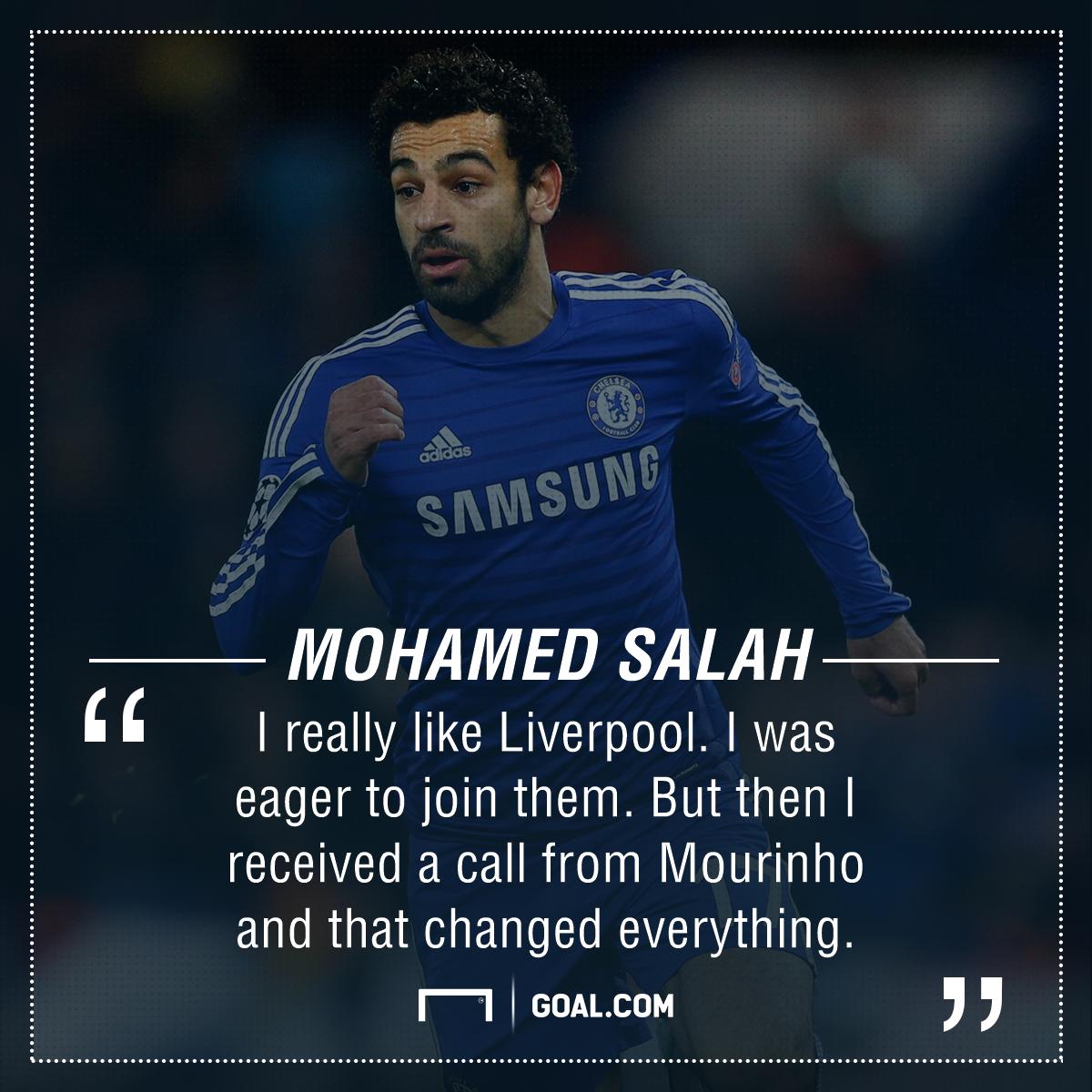 Mohamed Salah Mourinho Chelsea Liverpool PS