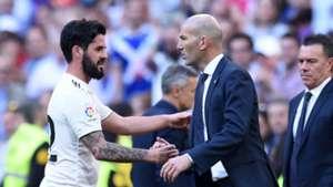 Isco Zinedine Zidane Real Madrid