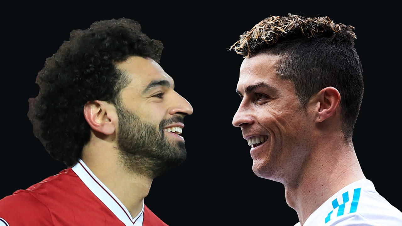 Natiijada sawirka Ronaldo, Salah and Zidane