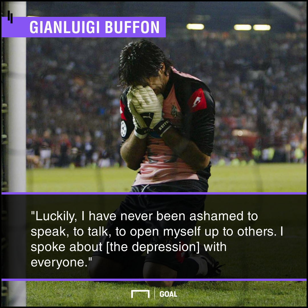Gigi Buffon Depression PS