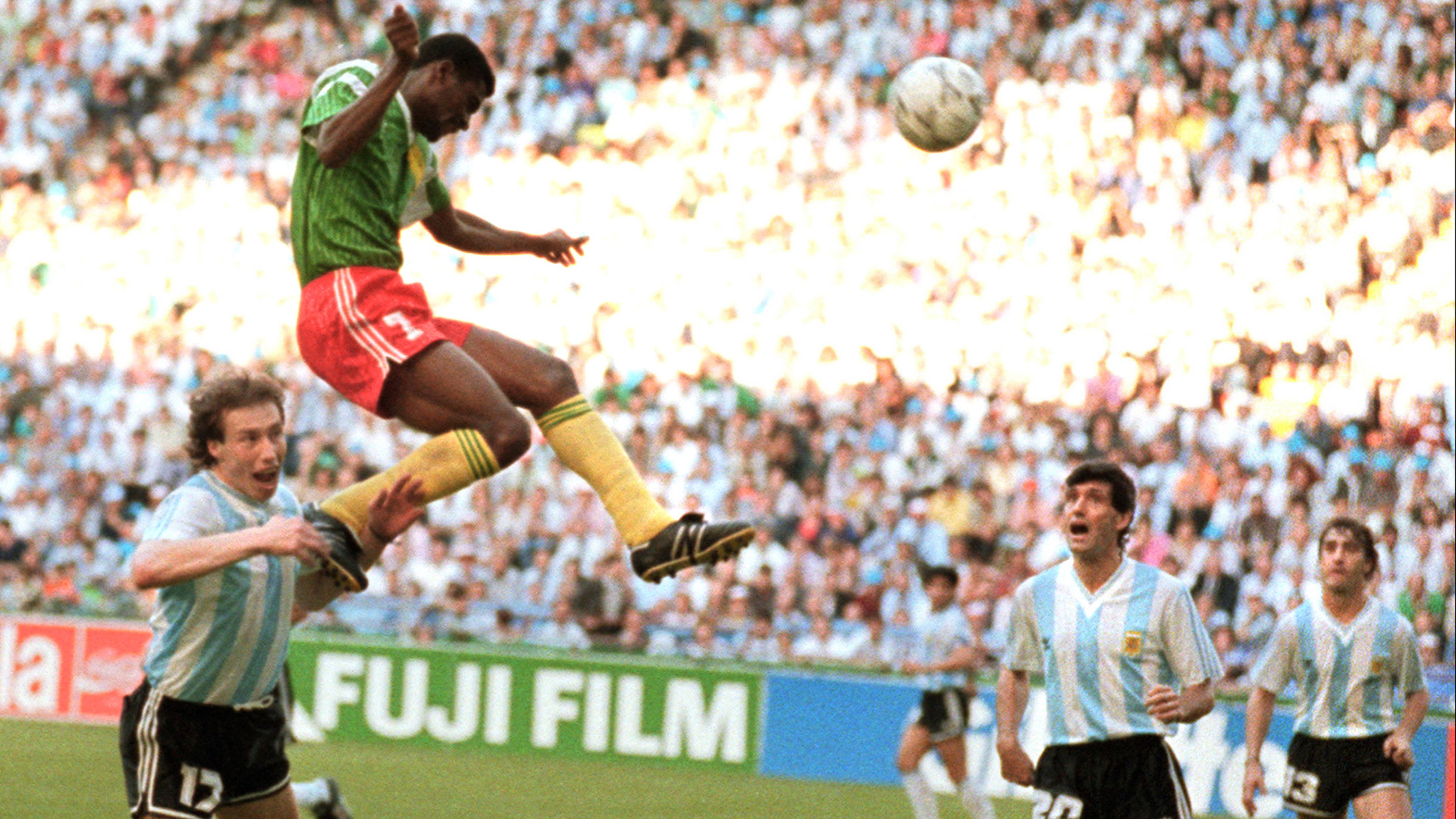 Argentina Cameroon World Cup 1990