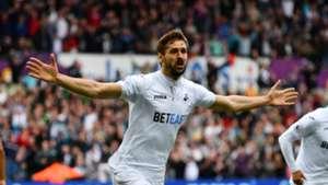 Fernando Llorente Swansea City Premier League