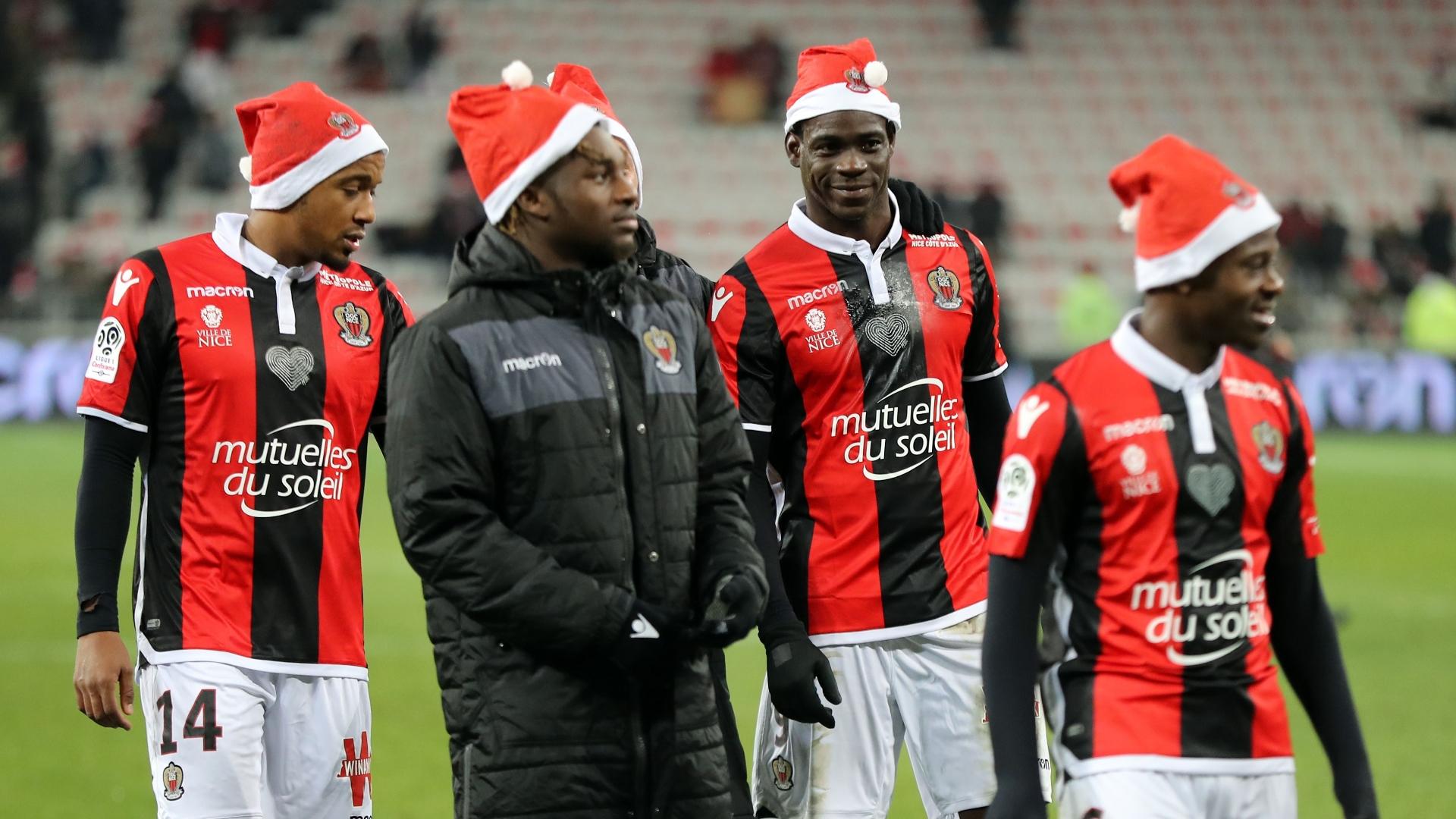 Nice in Santa hats