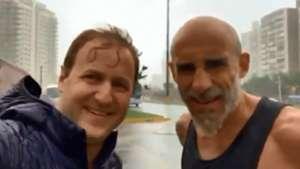 captura Javier Pinola lluvia Punta del Este