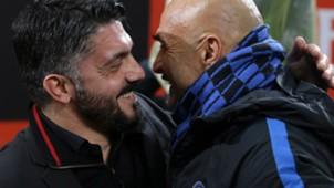 Gattuso Spalletti Milan Inter Italian Cup