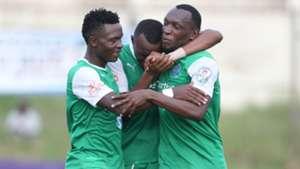 Gor Mahia Meddie Kagere Tuyisenge and George Odhiambo