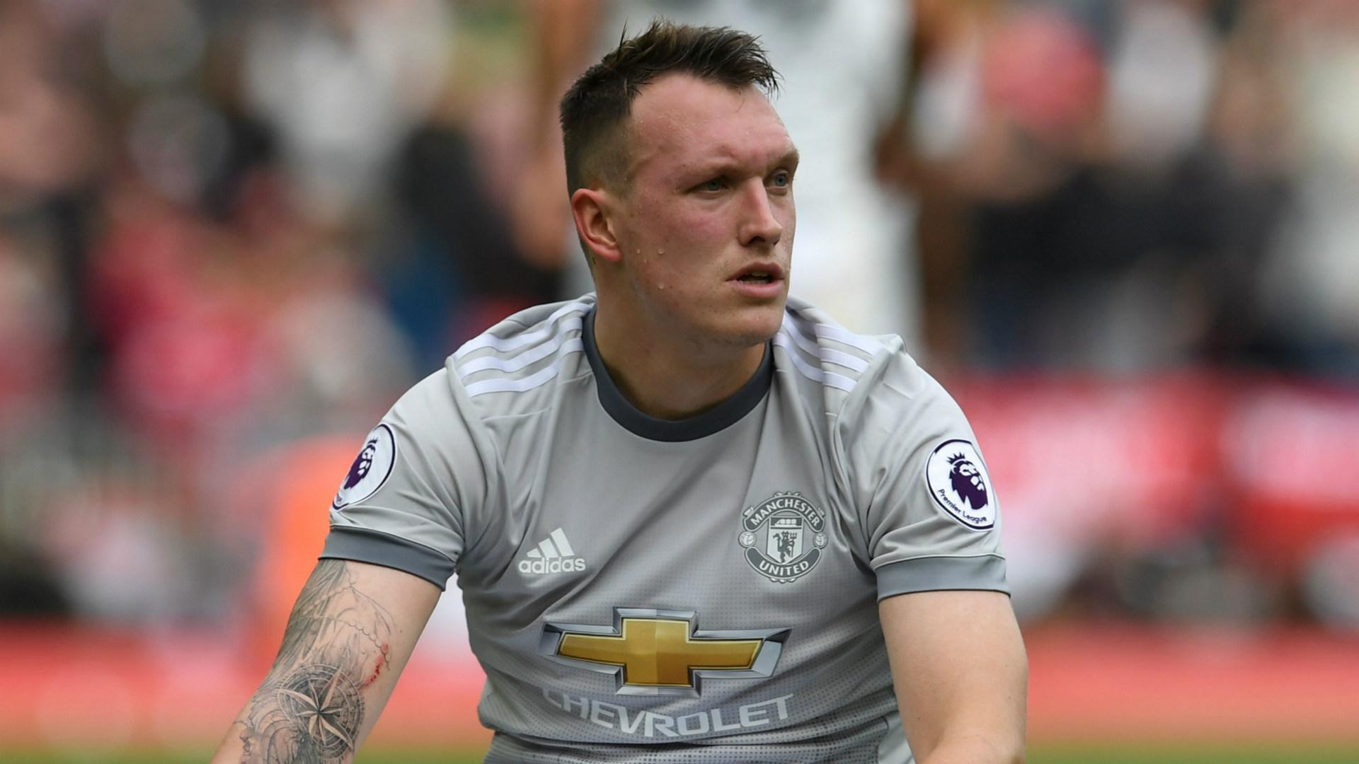 Phil Jones Manchester United 2017