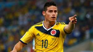 James Rodriguez World Cup 2014