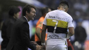 Guillermo Barros Schelotto Cristian Pavon Boca Patronato Torneo Primera Division 16042017