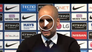 VIDEO Pep Guardiola rueda de prensa