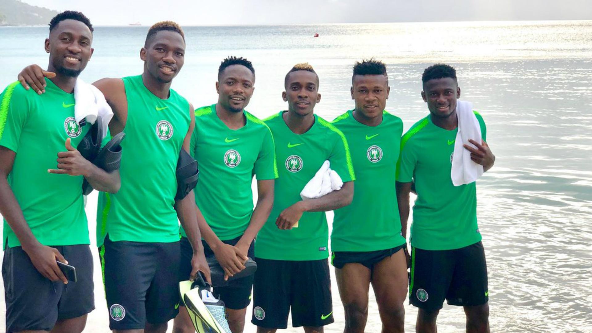 Wilfred Ndidi, Keneth Omeruo, Ahmed Musa, Henry Onyekuru - Nigeria