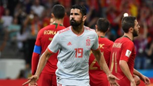 Diego Costa Portugal Spain World Cup 2018