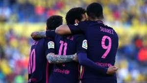 Lionel Messi Neymar Luis Suarez MSN Las Palmas Barcelona LaLiga 14052017