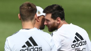 Argentina Jorge Sampaoli Lionel Messi 240618