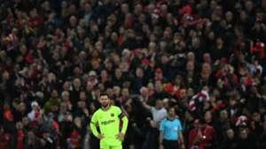Lionel Messi Liverpool Barcelona Champions League Semifinales