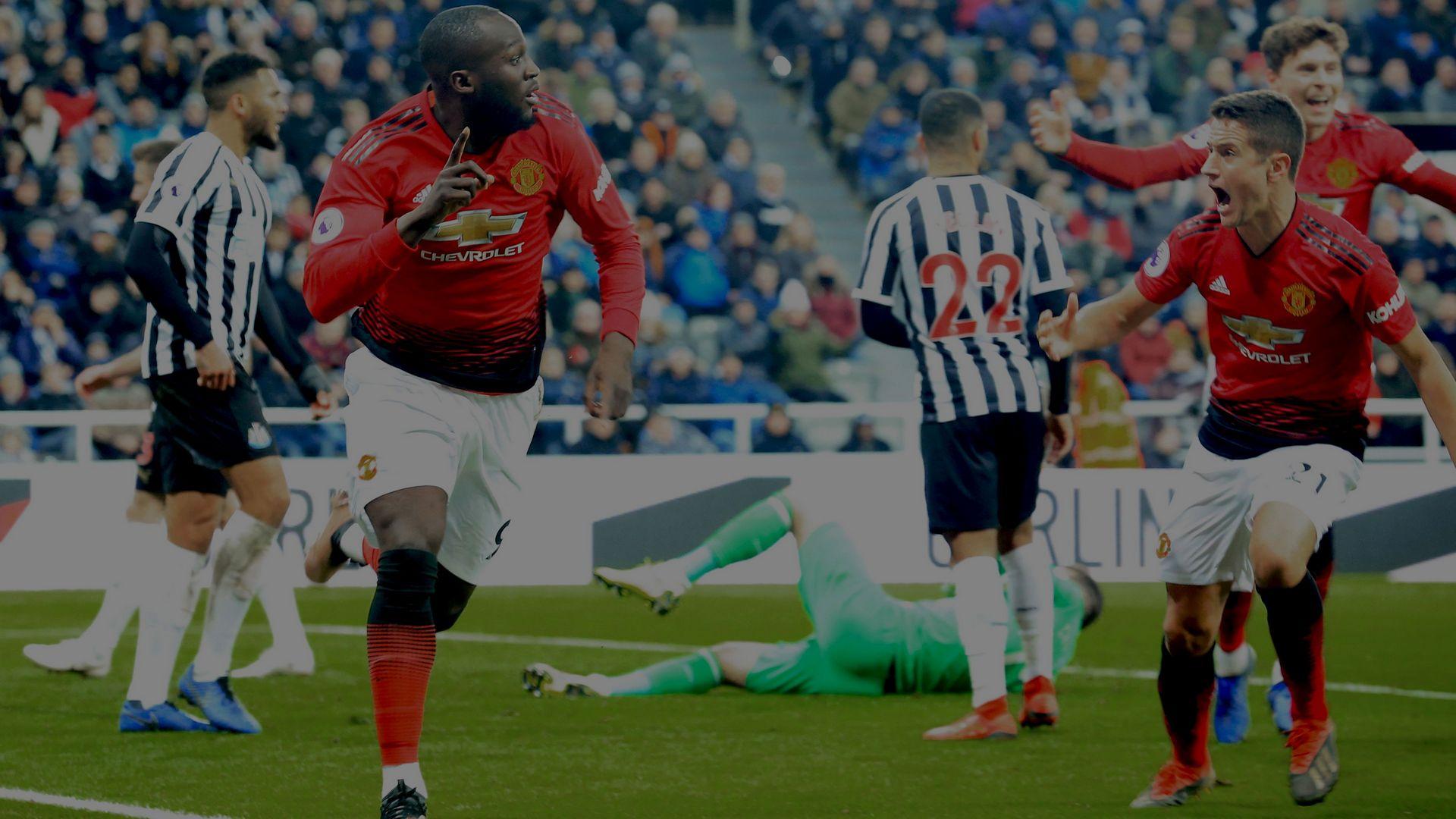 Romelu Lukaku Manchester United Newcastle United EPL 01022019