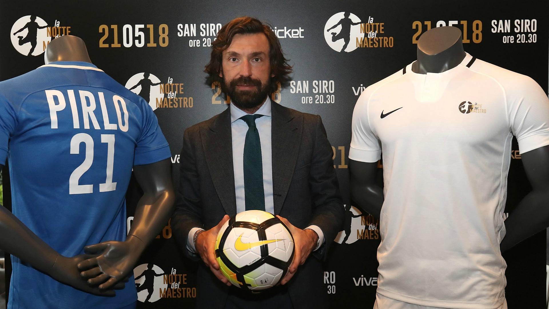 Pirlo e la partita d'addio al calcio, ci sarà anche Leonardo Bonucci