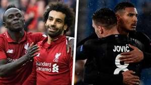 Sadio Mane Mohamed Salah Luka Jovic Sebastien Haller Split