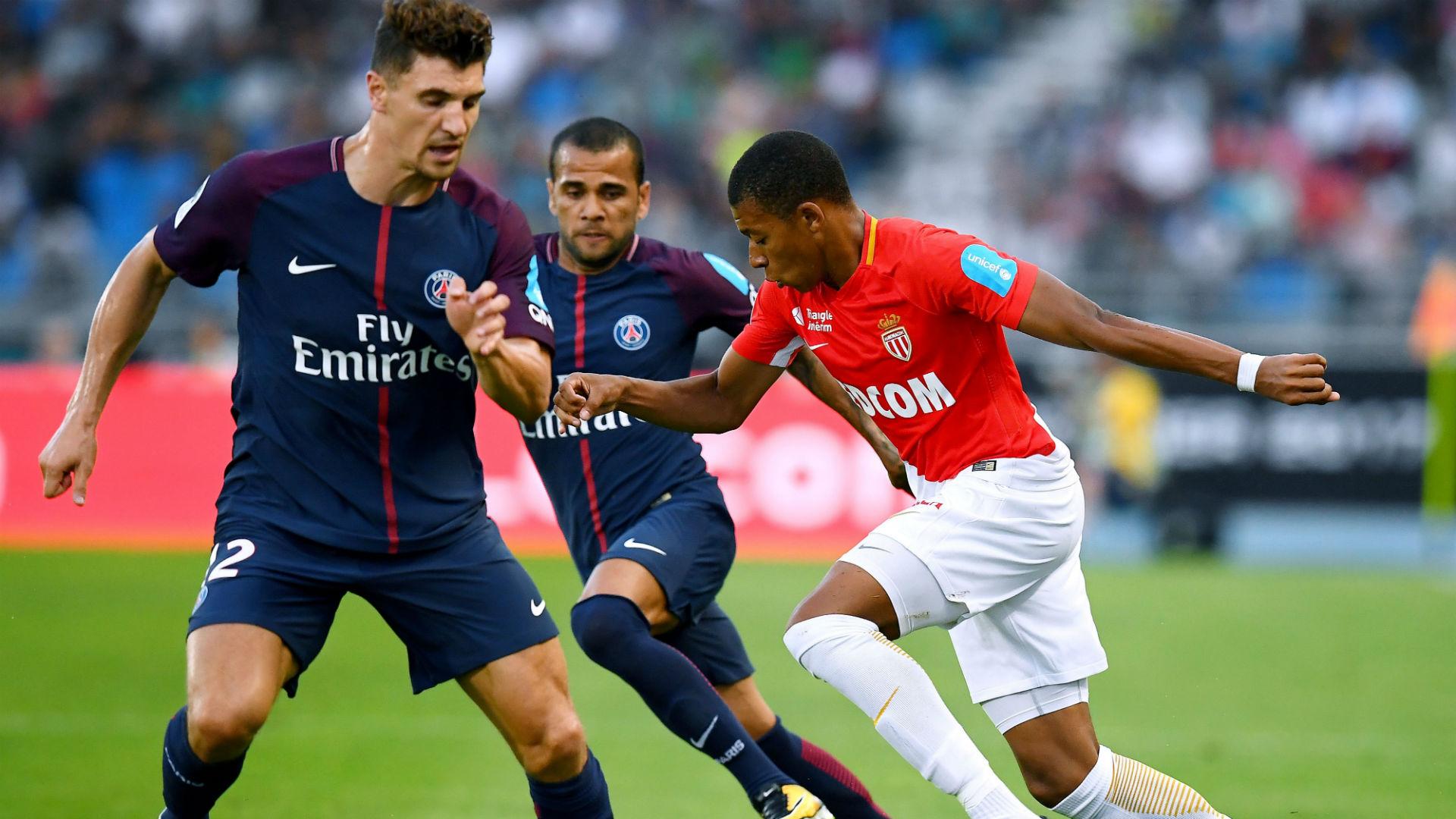 Kylian Mbappé Thomas Meunier Monaco PSG Trophee des Champions 29072017