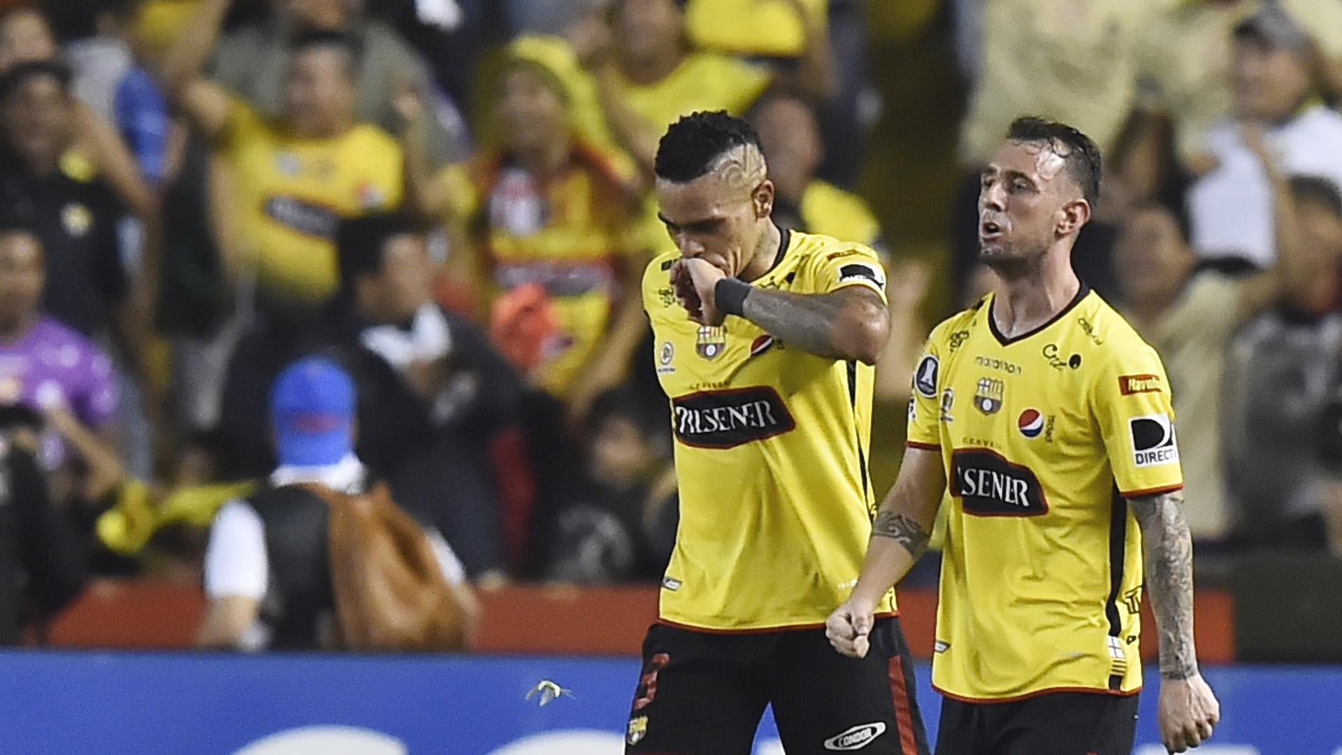 Damian Diaz Jonatan Alvez Barcelona Guayaquil Palmeiras Libertadores 05072017