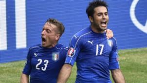 Giaccherini Eder Italy Sweden Euro 2016 06172016