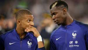 KYLIAN MBAPPE PAUL POGBA FRANCE NATIONS LEAGUE 06092018