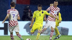 Mandzukic Rakitic Croatia Kosovo WC QUALIFICATION 02092017