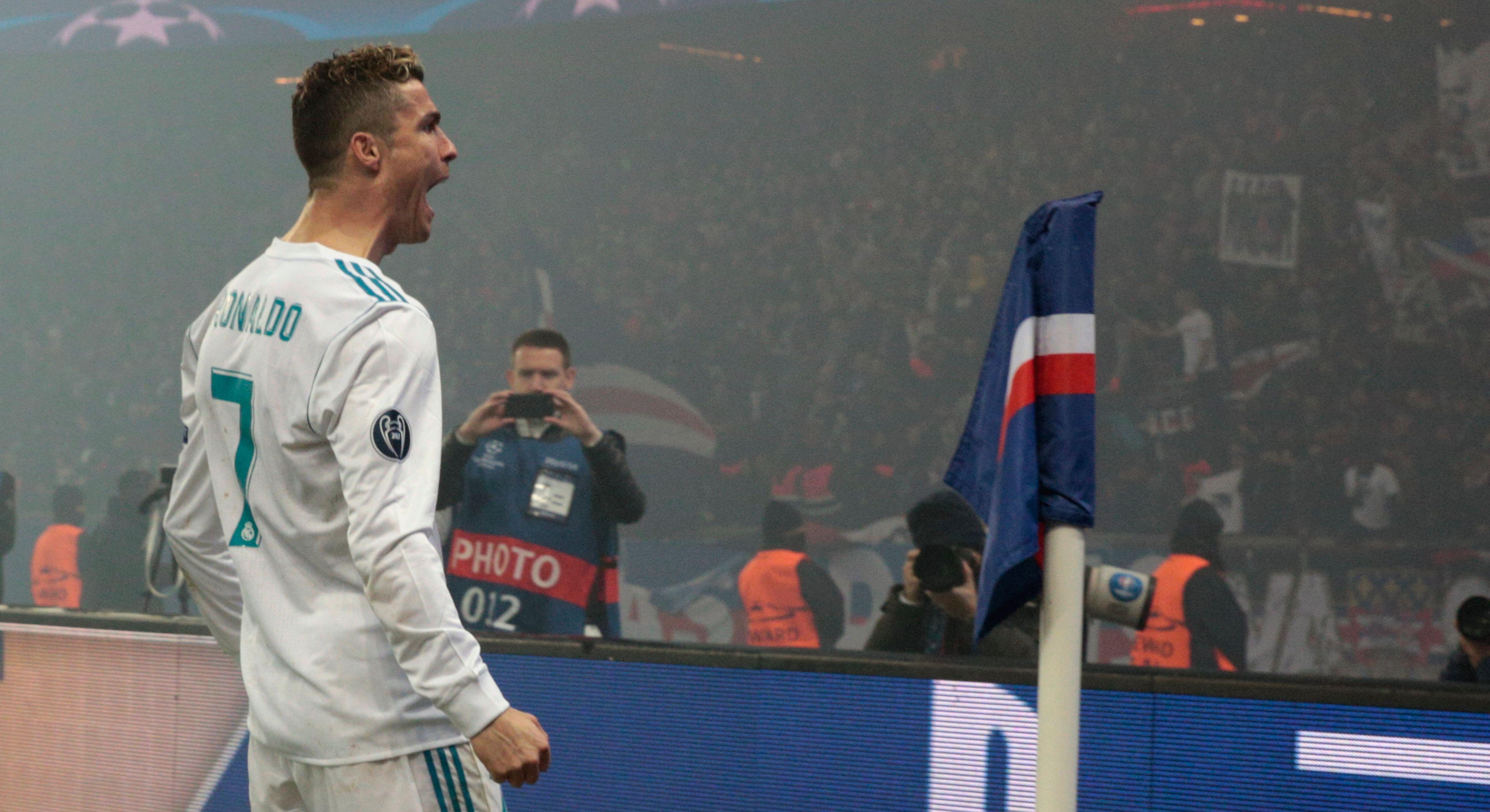 Cristiano Ronaldo Real Madrid PSG