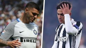 Mauro Icardi Paulo Dybala Inter Juventus 2017-18