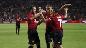 Juan Mata, Andreas Pereira, Alexis Sánchez - Manchester United
