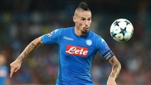 Marek Hamsik Napoli OGC Nice UEFA Champions League 08162017