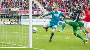 AZ - Feyenoord, Eredivisie 10012017