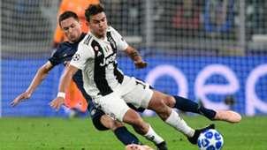Paulo Dybala Nemanja Matic Juventus Manchester United Champions League