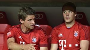 Thomas Muller & Manuel Neuer