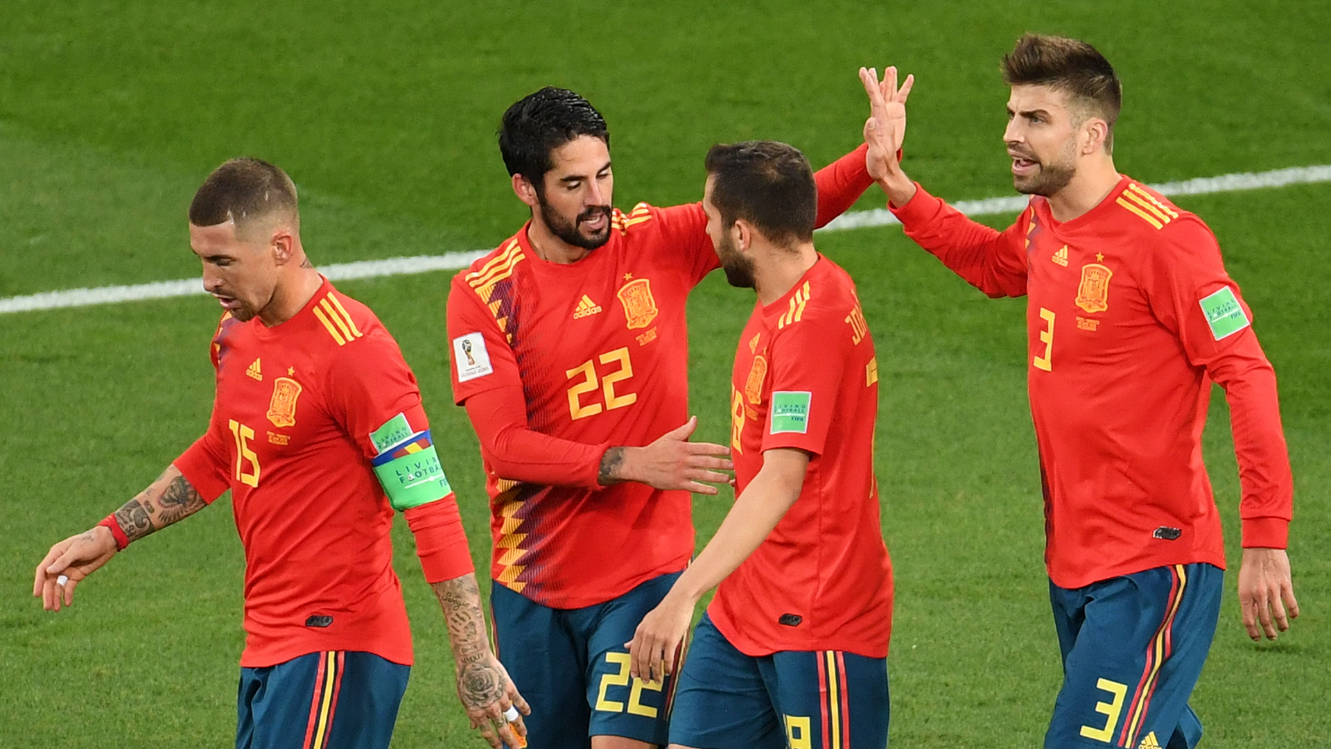 Spain Morocco World Cup 2018