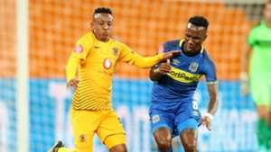 Hendrick Ekstein, Kaizer Chiefs & Teko Modise, Cape Town City, January 2019