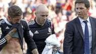 Sergio Ramos Jesus Olmo Real Madrid