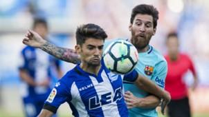 Enzo Zidane Lionel Messi Alavés Barcelona 26082017