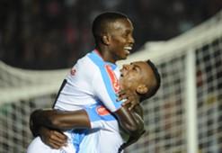 Moreno Junior de Barranquilla gol a Colón Copa Sudamericana