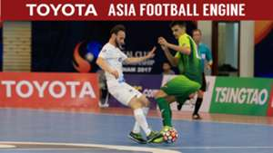2017 AFC Futsal Club Championship |Bluewave Chonburi vs Bank of Beirut