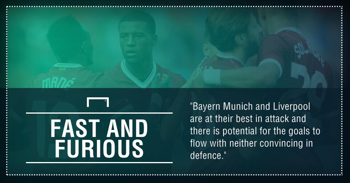 GFX Bayern Munich Liverpool betting