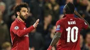 Mohamed Salah Sadio Mane Liverpool 2018-19