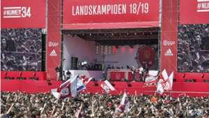 Huldiging Ajax, 05162019