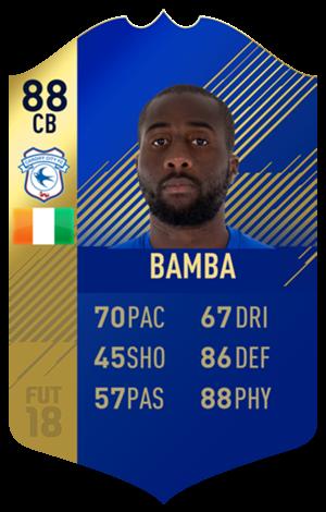FIFA 18 EFL Team of the Season Bamba